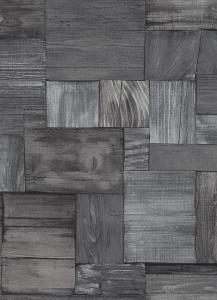 Tapety Erismann Countryside prkna dřevo černá