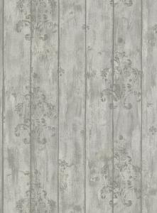 Tapety na zeď Erismann Dřevo prkna potisk šedá