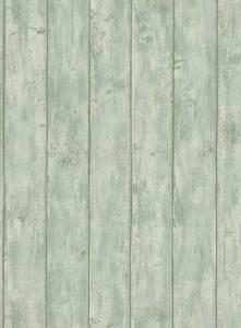 Tapety na zeď Erismann Dřevo prkna modrá