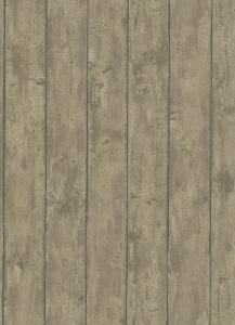 Tapety na zeď Erismann Dřevo prkna hnědá