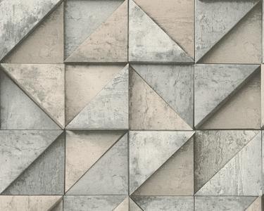Tapety Daniel Hechter - skládaný beton béžová