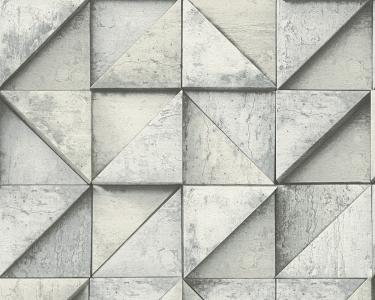 Tapety Daniel Hechter - skládaný beton šedá