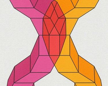 Tapety na zeď Lars Contzen Digital fialová