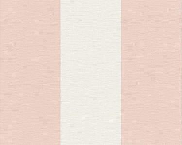 Tapeta na zeď Ateliér pruhy růžová
