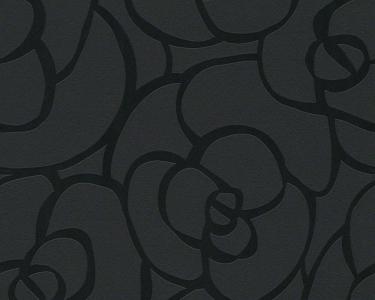 Tapety na zeď Raffi růže černá
