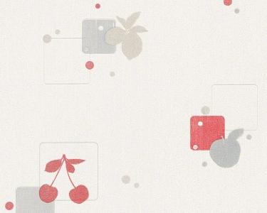 Tapety na zeď Koktejl červená třešně