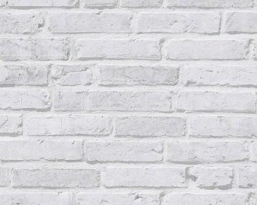 Tapety na zeď Koktejl Cihla bílá