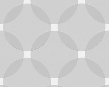 Tapety na zeď Aisslinger Kruhy šedá
