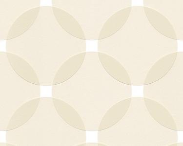 Tapety na zeď Aisslinger Kruhy béžová