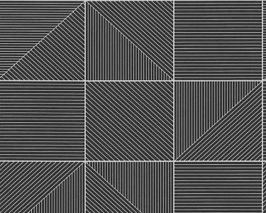 Tapety na zeď Aisslinger Geometry černá
