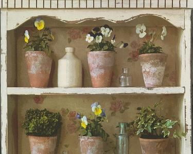 Tapety na stěnu Kolem světa - květináče