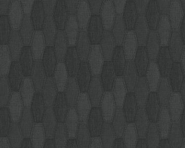 Tapety na stěnu Kolem světa - pytlovina černá