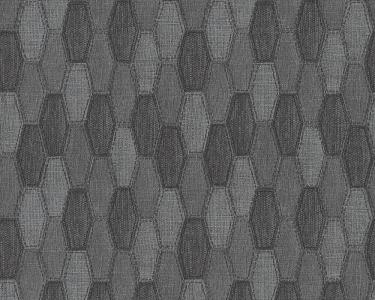 Tapety na stěnu Kolem světa - pytlovina šedá