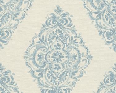 Tapety na stěnu Kolem světa - vzor modrá