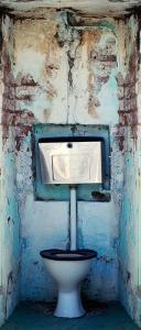 Fólie na renovaci dveří Záchod