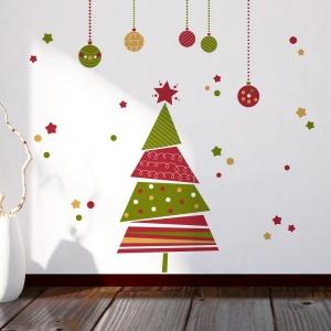 Vánoční dekorace na zeď Stromeček